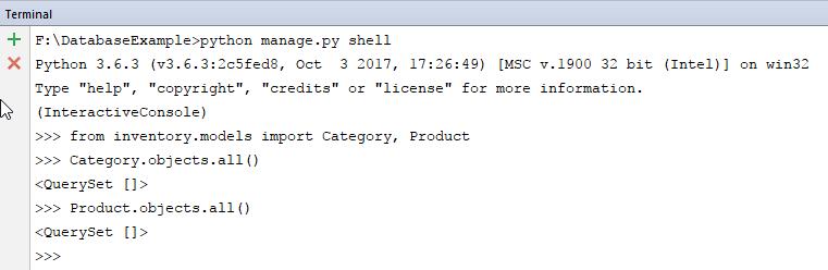 django database api