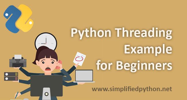 python threading example