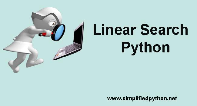 Linear Search Python