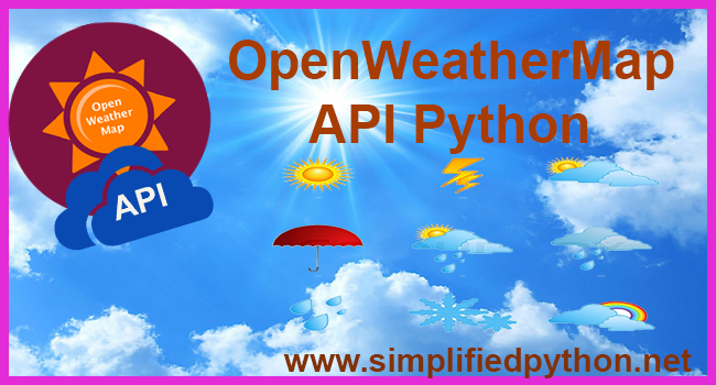 Open Weather Map Api Example.Openweathermap Api Python Access Current Weather Data Of Any Location