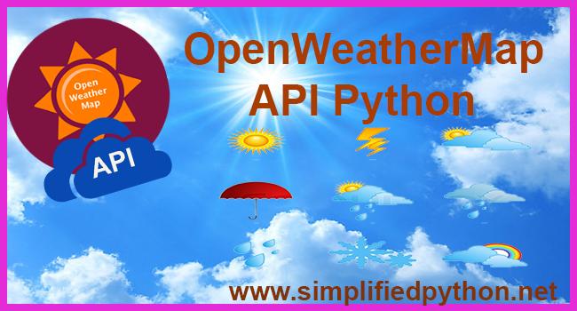OpenWeatherMap API Python