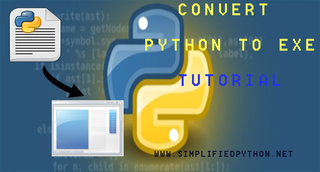 Convert Python To exe