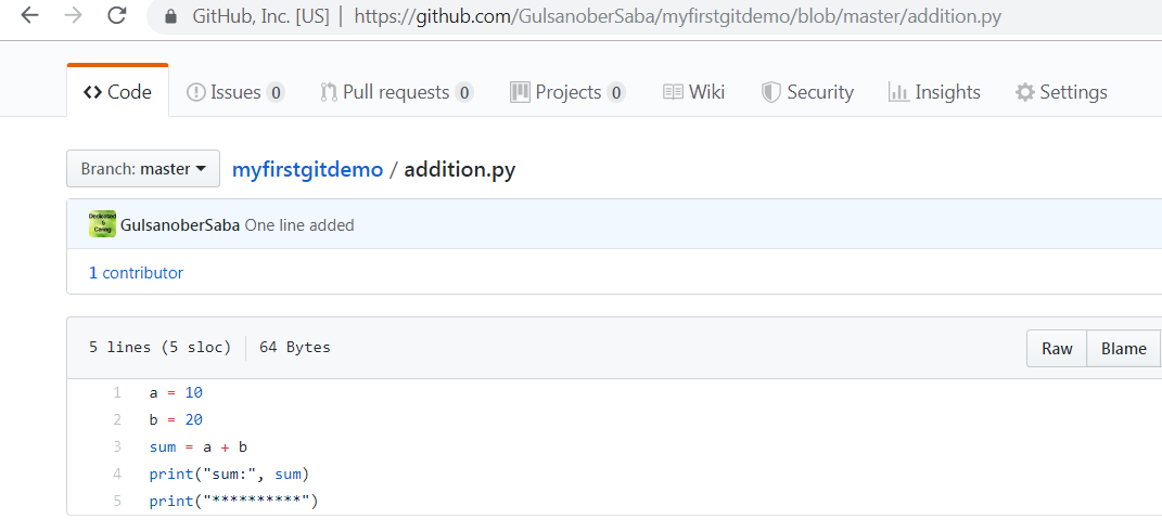 How To Add Code To GitHub